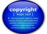 """Copyright"" definition button"