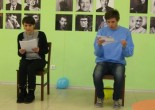 """Blue Bus"" reading the play by Dmytro Levytsky"