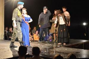 """A Moment from """"Viy 2.0"""" Play by Nataliya Vorozhbyt"""
