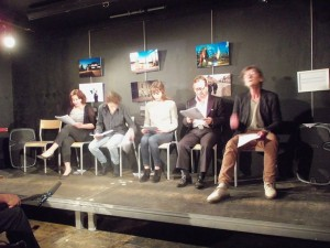 Neda Nezhdana's play reading